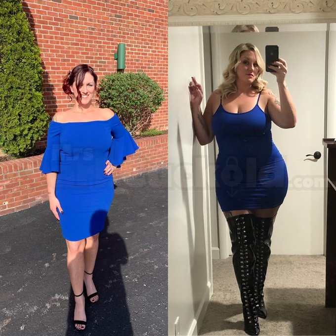 2 pic. Be honest, which one do you prefer? Left is 20lbs lighter. https://t.co/HOhIBnmamG