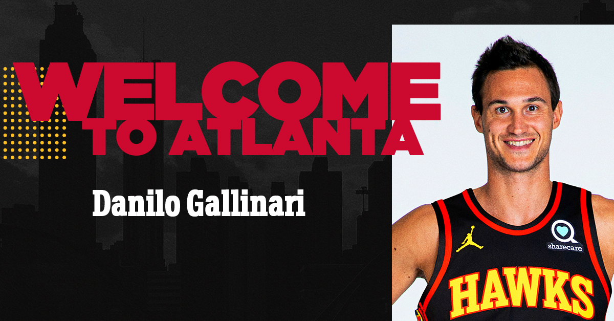 ROSTER UPDATE: We have acquired Danilo Gallinari.  Details : https://t.co/cojyNqO9nB https://t.co/T3Y2Ov9c82