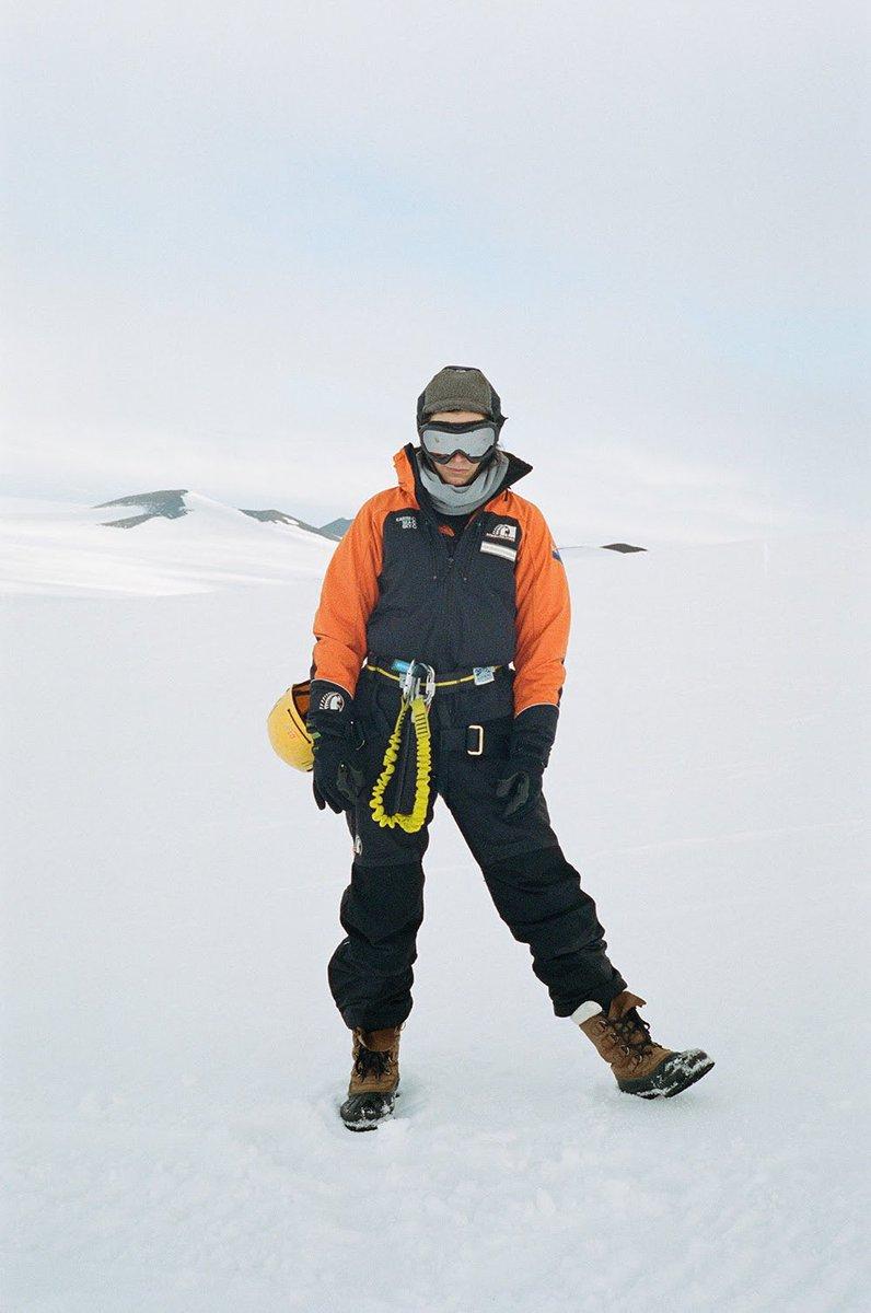 NEW PHOTO: Lorde in Antarctica.