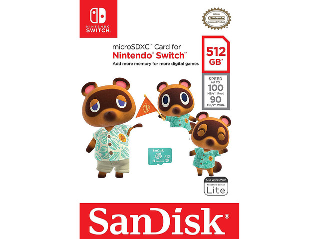 test ツイッターメディア - 【だなも】サンディスク、『あつ森』仕様の公式マイクロSDを米国で販売 https://t.co/Pq2sSAVD76  同作の家具などで見られる「あの葉っぱ」をデザイン。NintendoSwitch用で容量は512GBとなっている。 https://t.co/LP0JZMk7th