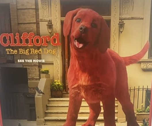 Ok so apparently there's a live action Clifford The Big Red Dog movie and I don't know what to think https://t.co/HiqFdsJNhi