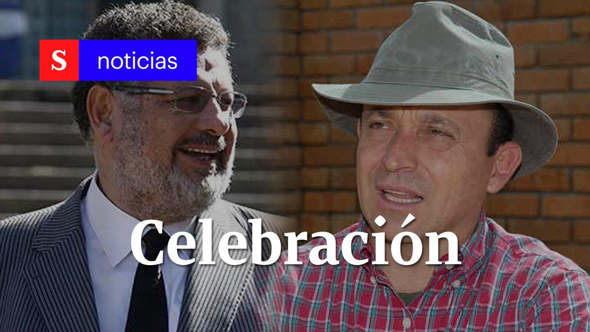 Santiago Uribe, hermano del expresidente Álvaro Uribe, era investigado por la presunta financiación de grupos paramilitares. Su defensa, el abogado Jaime Granados, celebró que se archivara el proceso. #SemanaNoticias