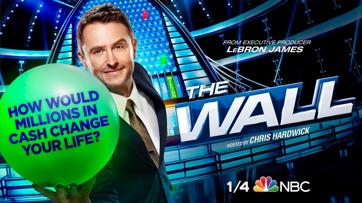 Lives will be changed. #NBCTheWall returns January 4 on @NBC!