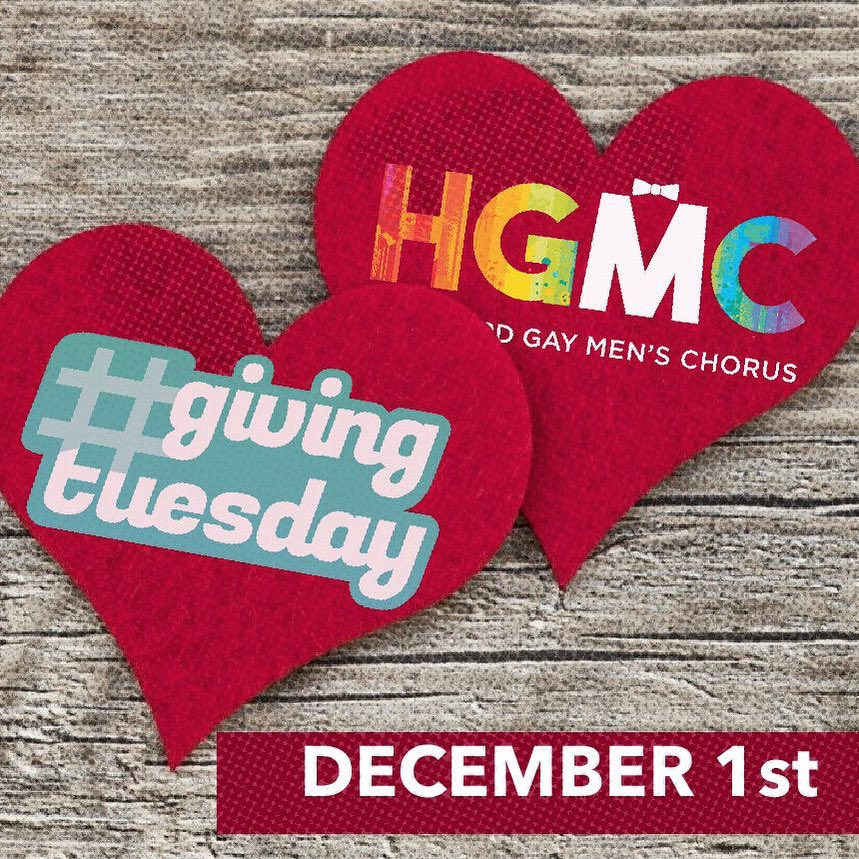 #GivingTuesday #GivingTuesday2020    🎼🎶🏳️‍🌈 #hgmcsing #togetherinsong  #GALAchoruses #gaychorus #ILoveGay #charity #nonprofit #donate #support #community