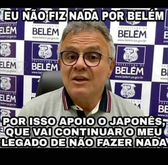 Pororoca de memes - Eleição em Belém