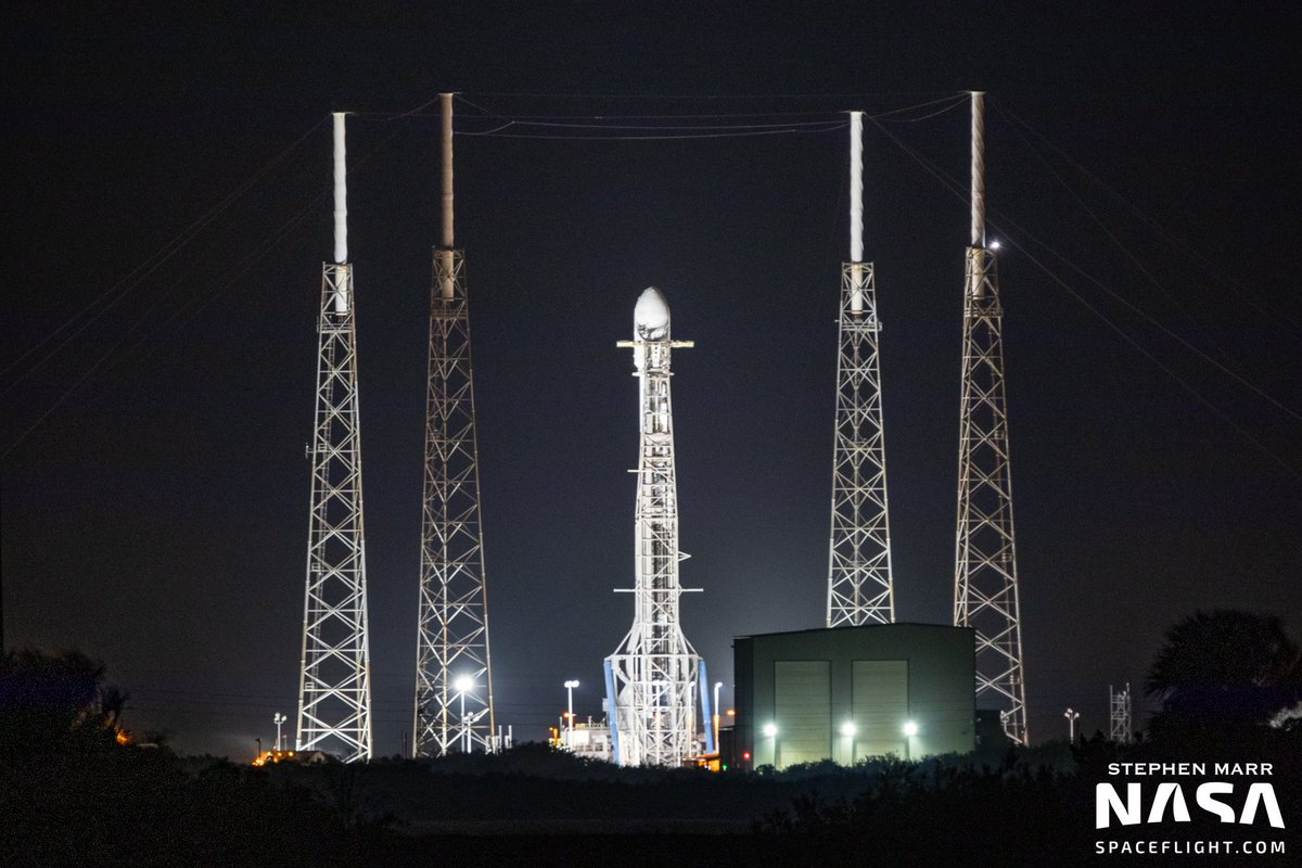 @SpaceX 100th launch and 7th launch and recovery!!