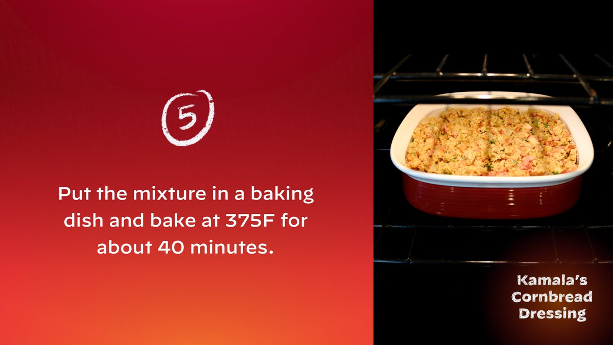 Put the mixture in a baking dish and bake at 375F for about 40 minutes. Enjoy!