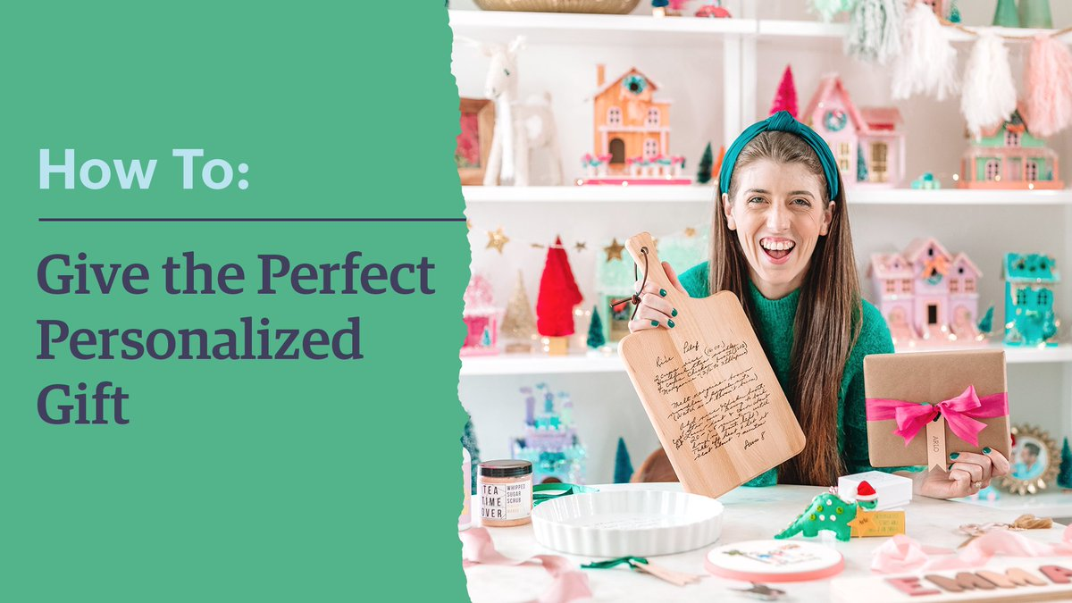 Kelly Mindell of @StudioDIY is here to show you how to pick the perfect gifts! Watch for creative ideas for everyone on your holiday list, then shop her festive selections: https://t.co/YZctq13Rlo https://t.co/3sfamXSHpD