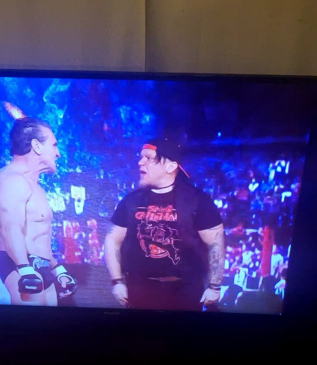 Awesome to see @TheSamiCallihan repping his @grudgematchbrnd on impact! #IMPACTonAXSTV