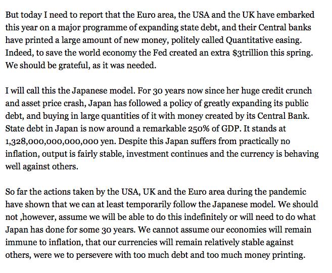 John Redwood: State debt and money printing: https://t.co/rXVZvVi0m4 https://t.co/lFh18PpYjS