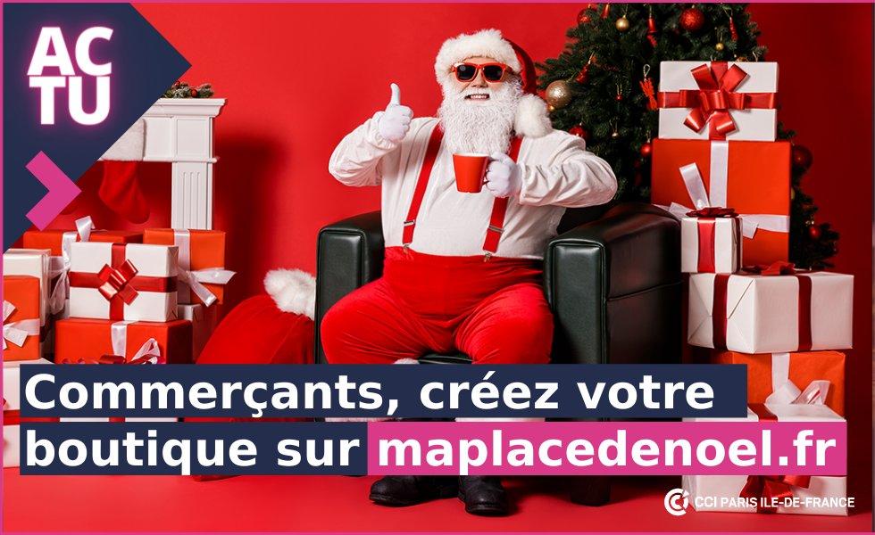#Commerçants : créez votre boutique en ligne gratuitement ! Rejoignez la plateforme #MaplacedeNoel 🎄🎁 Une solution clé-en-main pour vos ventes de fin d'année 👉  Un partenariat @CCI_Paris_IdF @crmaidf @Paris @LPNews_IDF @mavillemonshop  #Noel #digital