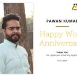 Image for the Tweet beginning: Congratulations, Pawan Kumar! On your