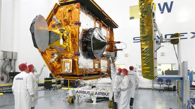 Okyanusların gözcüsü Sentinel-6 Michael Freilich uydusu uzaya fırlatıldı  @AirbusSpace @ESA_EO @NASAJPL @CopernicusEU @EUMETSAT #SpaceMatters #SeeingTheSeas #Sentinel6