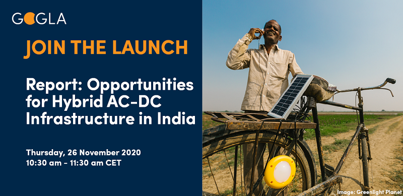 TOMORROW: Can energy-efficient #appliances be integrated with the #electricity grid? Join us for the launch of our latest report, deep-diving into the opportunities for a hybrid AC-DC infrastructure in #India. Hurry and register here: