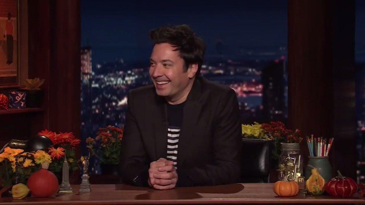 Catch Jimmy & @TheRoots in this year's #MacysParade on @NBC! 🦃 #FallonTonight https://t.co/6TzqhbUPBu