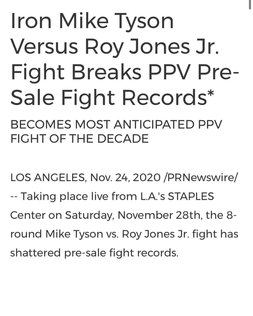 Numbers don't lie.  haters are mad they can't get numbers like this.  Saturday is reckoning.  @RealRoyJonesJr you better be ready