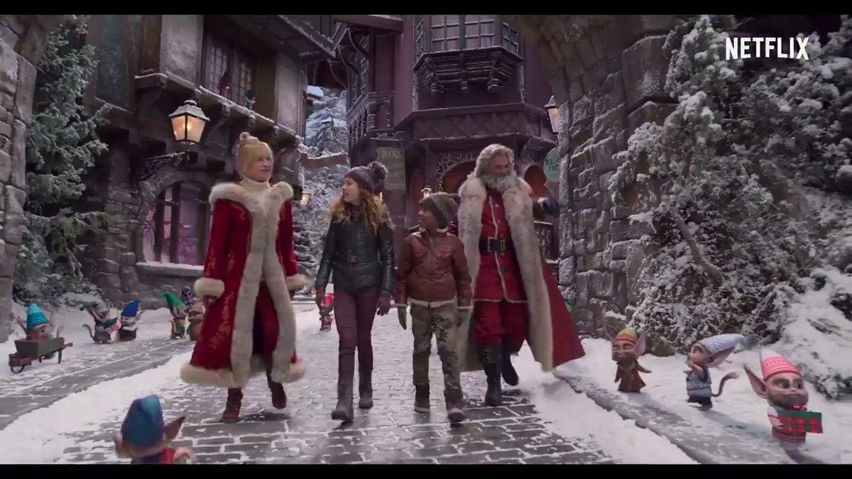 Welcome to the North Pole, where Santas been swell for 1,700 years and nothing could possibly go wrong here! 🎄THE CHRISTMAS CHRONICLES: PART TWO, starring Kurt Russell and Goldie Hawn, is now streaming globally on Netflix🎄