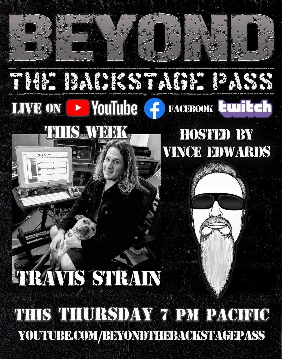 tune in Thursday, link in bio #livesound #livemusic #proaudio #concert #concertsound #Tech #audiotech #liveengineer #fohengineer #travisfoh #productionlife #interview #podcast #soundimageproductions #beyondthebackstagepass #thursday #live #thanksgiving