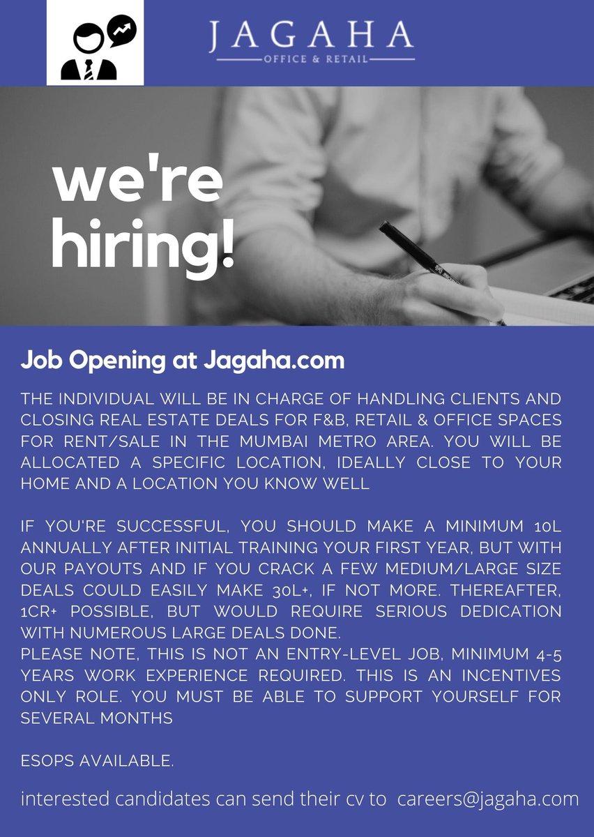 Job Opening at  - Real Estate Advisor  #jobs #jobsearch #hiring #job #career #work #resume #careers  #nowhiring #business #jobseekers #sales #covid #jobopening #interview #jobseeker #realestate #realestate #Agent #advisor #jobinterview #vacancy #hiringnow