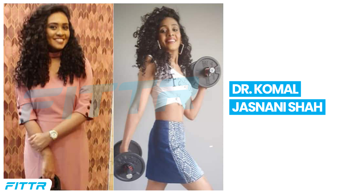 """""""I am in my best body shape ever, and we are continuing till I reach my goal of a perfect, powerful body!""""  Dr Komal Jasani Shah's quest for a perfect tummy led her to Fittr. Read her story here: https://t.co/dyVxjpt7WO  #fitness #fitnessjoureny #health https://t.co/xMF4JufDYg"""