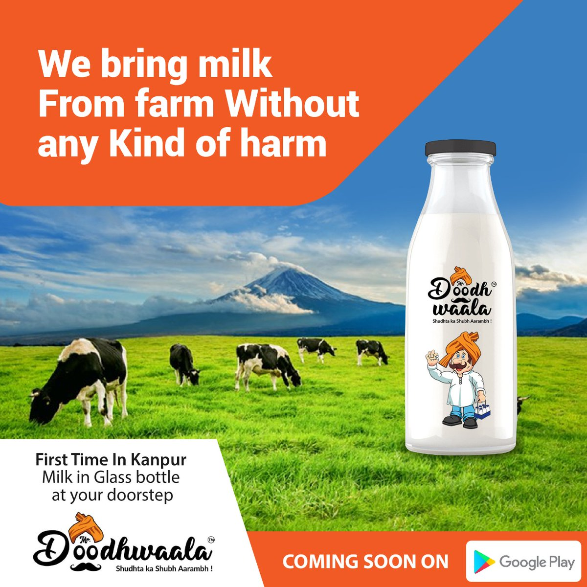 We Bring milk from Farm Without any kind of Harm #nutrition #fitness #health #healthylifestyle #healthy #healthyliving #protein #strength #healthylife #milk https://t.co/lk5oety23n