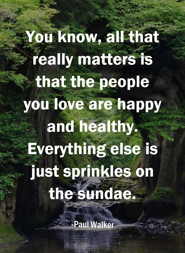 You know, all that really matters is that the people you love are happy and healthy. Everything else is just sprinkles on the sundae. #fitnessmotivation #health #healthylifestyle #fitness #peoplelove https://t.co/1FofnqfFqY