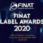 Image for the Tweet beginning: FINAT Label Awards 2020 –