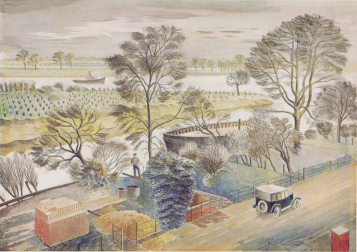 It's an early start for me tomorrow. So here's my #bedtimetweet. Another scrummy @Ravilious1942.