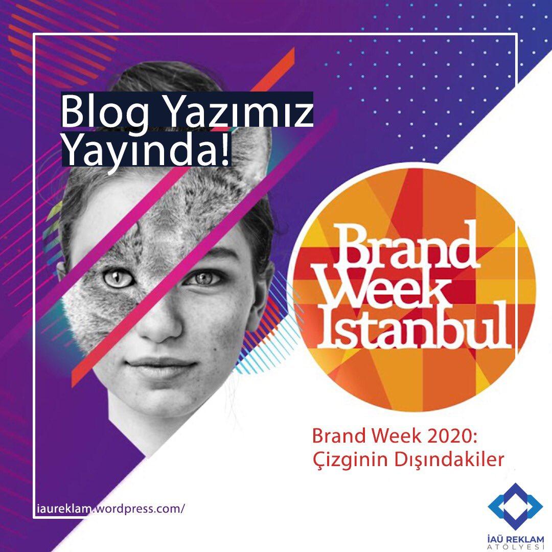 """Öğrencilerimizden Aleyna Uluer, """"Brand Week 2020: Çizginin Dışındakiler"""" başlıklı yazısı ile Brand Week İstanbul'un ardından akılda kalanları kaleme aldı.  👉🏻   #iaureklam #brandweek #brandweek2020 #mediacat @brandweekist @MediaCat"""