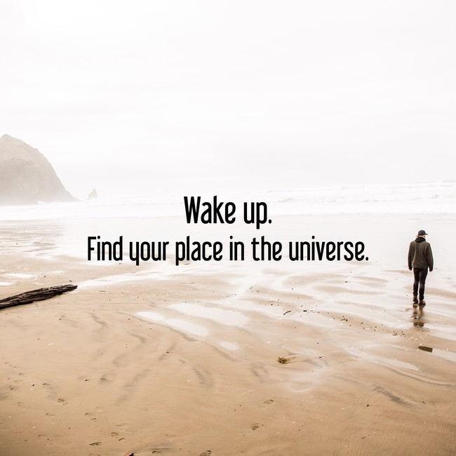 #motivational #motivation #motivationalquotes #inspiration #quotes #Wake #Find #your #place #universe https://t.co/BeemX9ziof