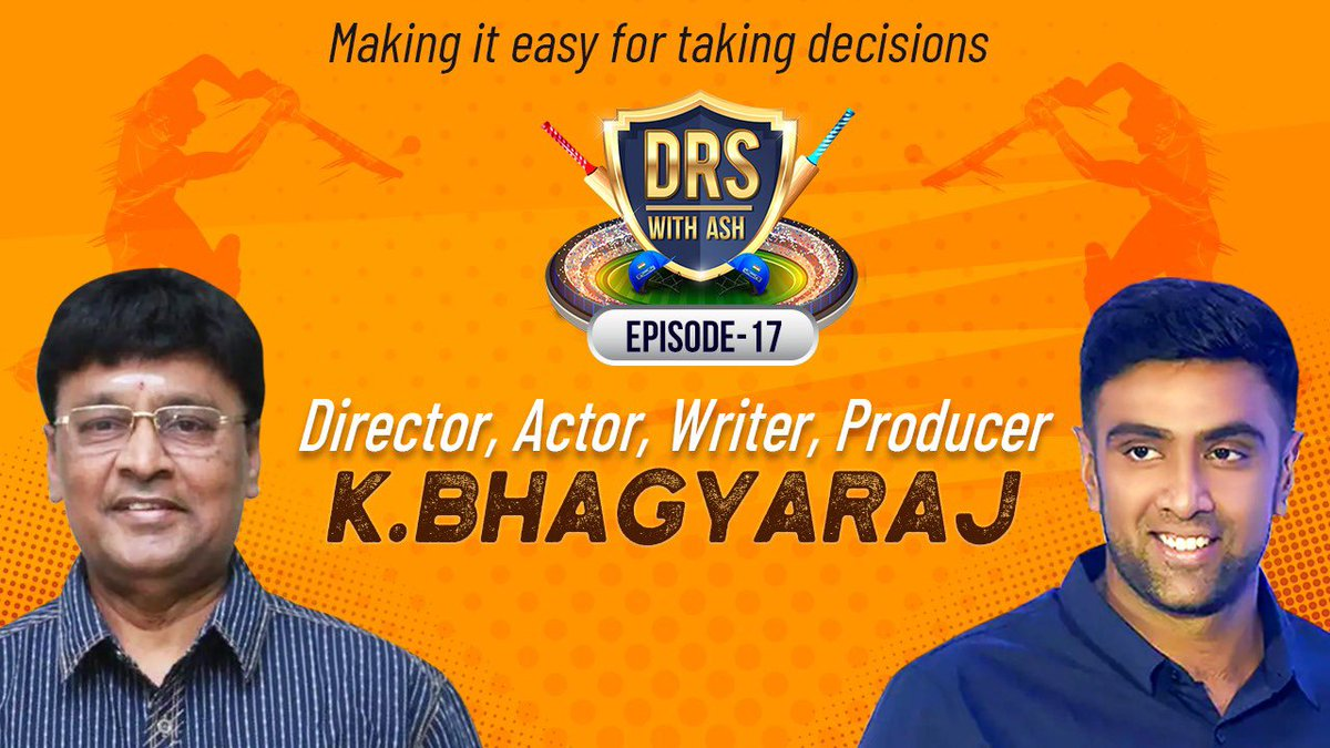 Ek Gaaon Mein, Ek Kisaan Raghuthatha! 😂 It was an honour having the legendary K Bhagyaraj sir on #DRSwithAsh. Totally amazed by his storytelling & narration and I'm sure you will love it too. Premiers at 12 pm. Turn on CC for Subs. @imKBRshanthnu