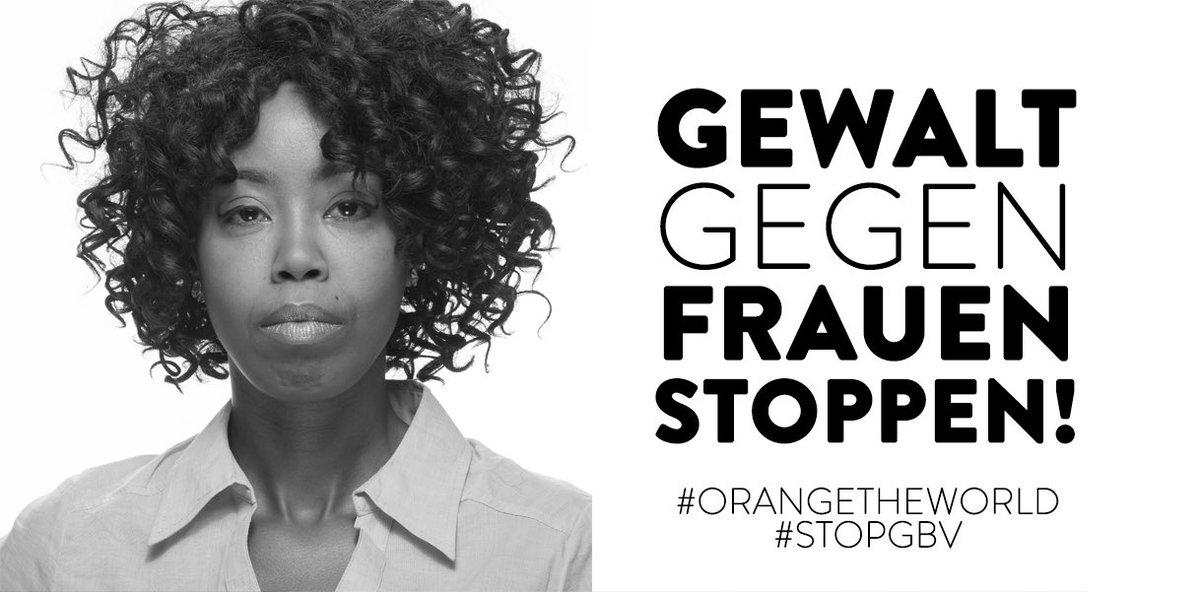 Heute ist der Internationale Tag gegen Gewalt an Frauen. Warum? Jeden Tag werden weltweit 137 Frauen von ihrem Partner umgebracht. Eine von drei Frauen in der EU hat in ihrem Leben bereits physische und/oder sexuelle Gewalt erfahren müssen. 1/2👇 #StopGBV #orangetheworld