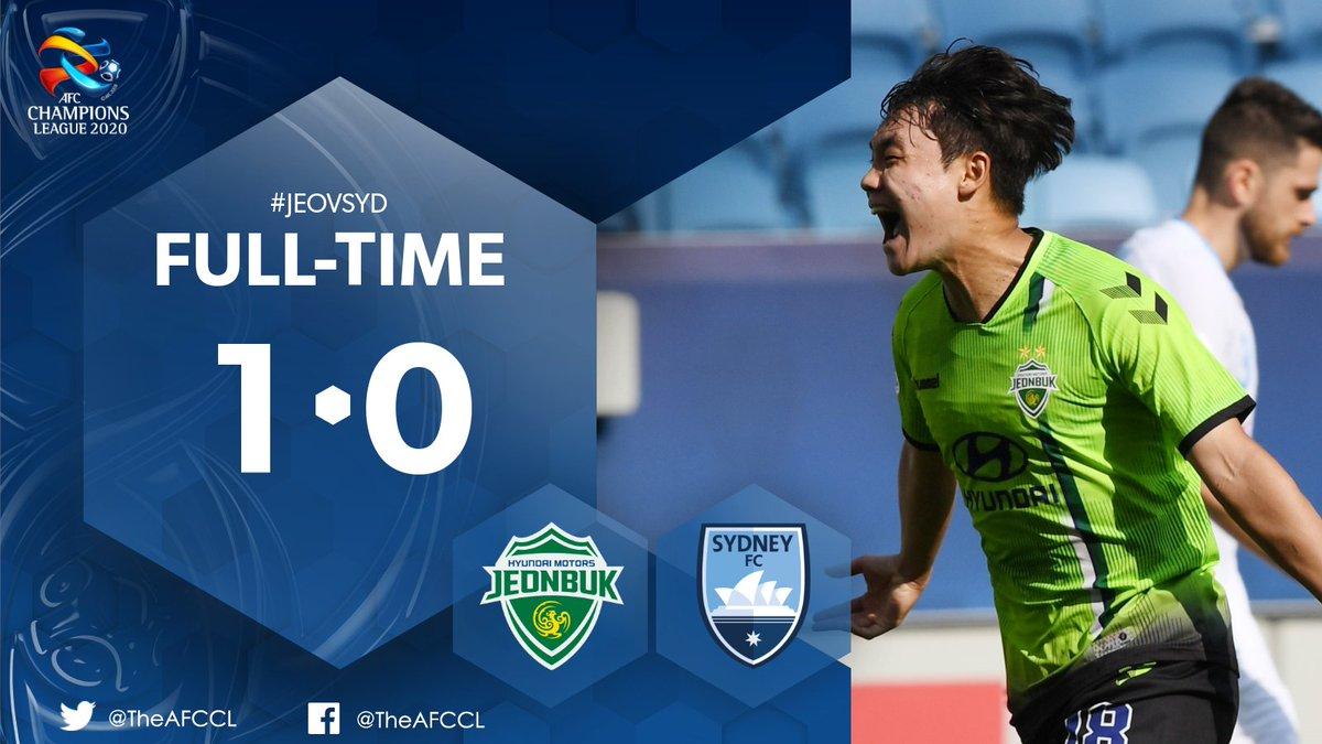 HIGHLIGHTS | 🇰🇷 Jeonbuk Hyundai Motors 1-0 @SydneyFC 🇦🇺  🎥 Jeonbuk pick up a crucial win thanks to Na Seong-eun's first professional goal.  📰 #JEOvSYD Match Report:   #ACL2020