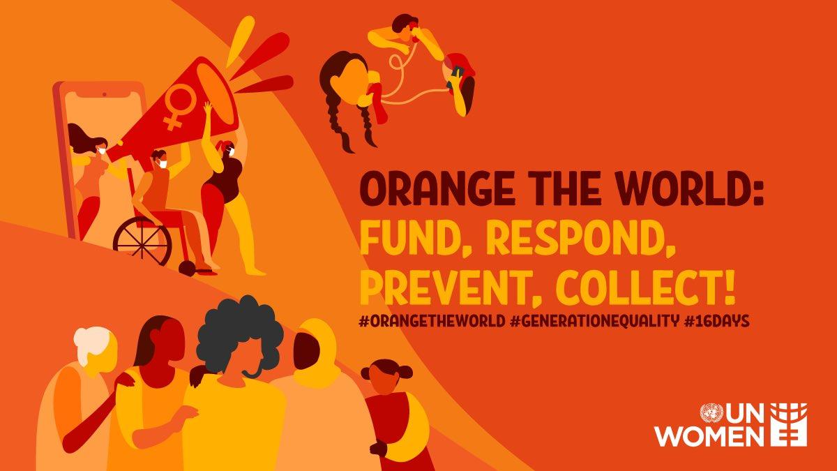 #OrangeTheWorld
