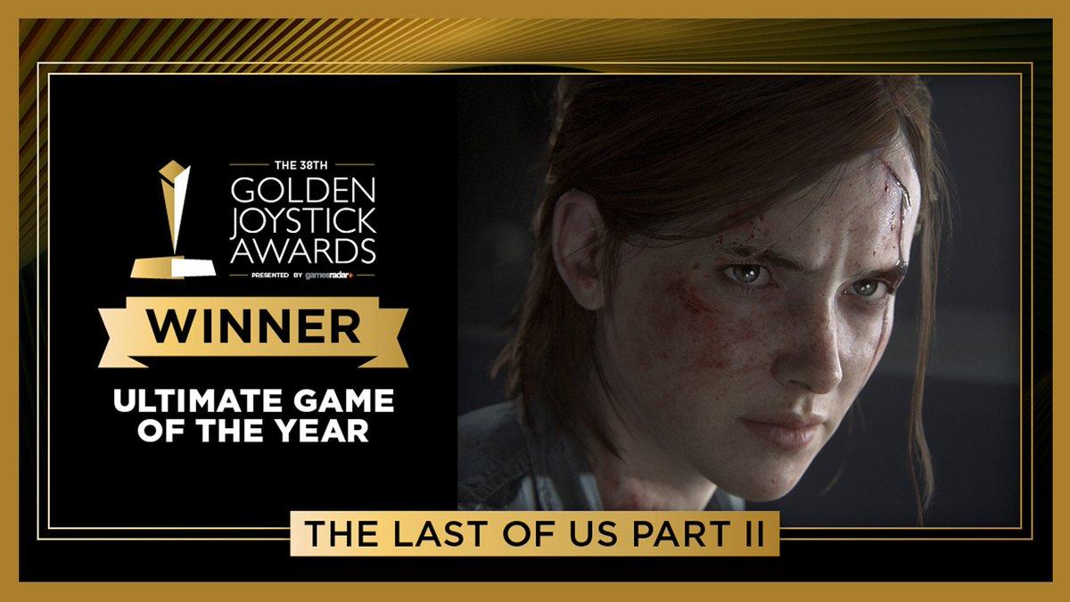 The Last of Us Part II fue el gran ganador de los Golden Joystick Awards en su edición nro. 38. Se llevaron varios premios, incluyendo el más importante.