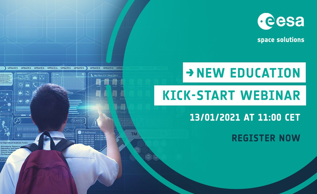Due to #COVID19, remote #learning is becoming a new reality which may continue long-term. 👨‍💻📚  Find out about our upcoming 'New #Education' Kick-Start by registering for the webinar on 13/01 👇