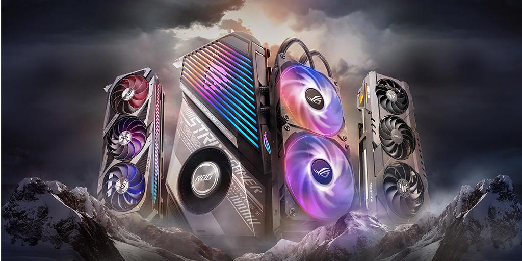 ASUSROG_UK - ASUS @AMD_UK Radeon RX 6000 GPU are now ready to pre-order!!  @EbuyerGaming ✅ @ScanComputers ✅ @OverclockersUK ✅