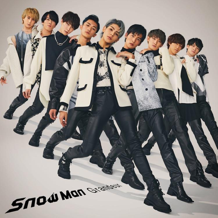 Snow Man、メンバー9人がシンクロした3rdシングル「Grandeur」ジャケット写真公開 #SnowMan