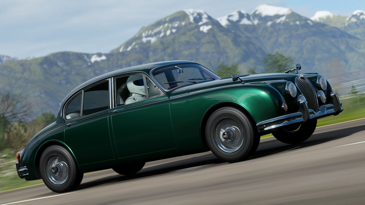 Car 631 - 1959Jaguar Mk II 3.8  #ForzaHorizon4 #ForzaShare #Xbox #Forza #HorizonPromo https://t.co/zsB7l4fRYw