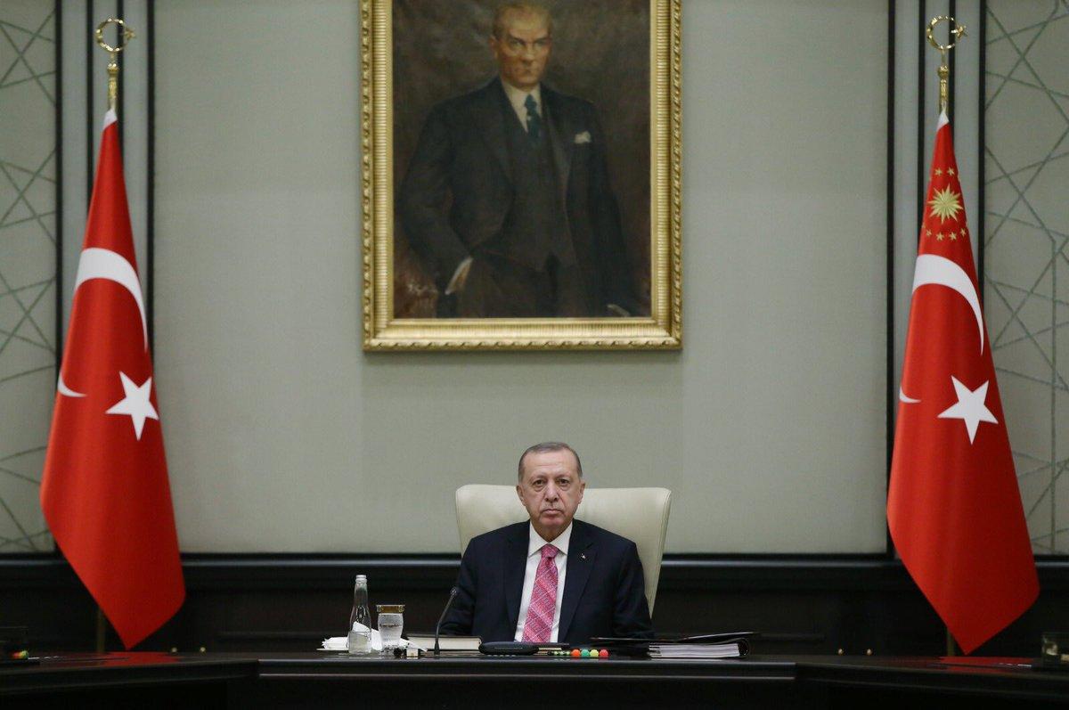 Millî Güvenlik Kurulu, Cumhurbaşkanı Erdoğan'ın başkanlığında toplandı