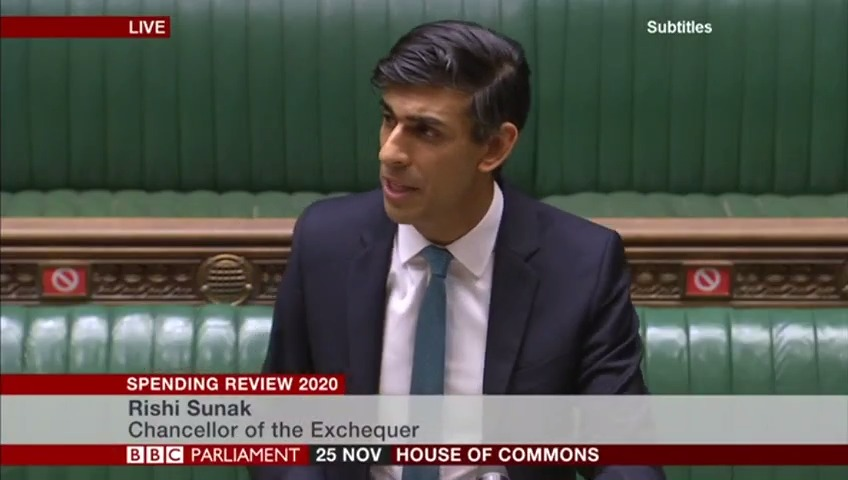 Unemployment could rise to 2.6 million people next year, warns Chancellor Rishi Sunak