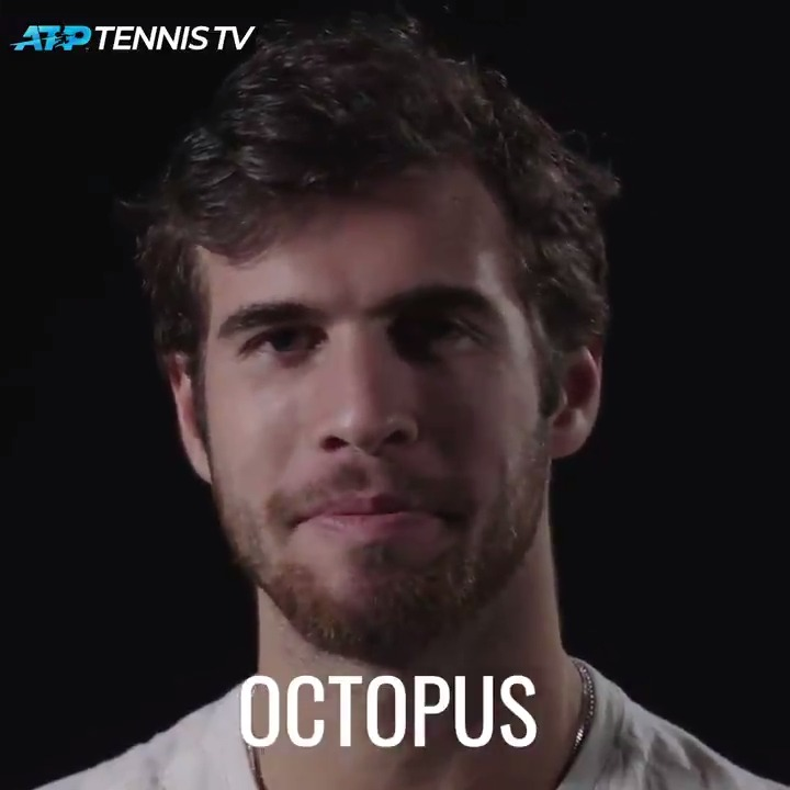 🕷 Spider 🐙 Octopus  Newest #NittoATPFinals champ @DaniilMedwed described in one word...  What word would you choose? https://t.co/ivtLCr21PE