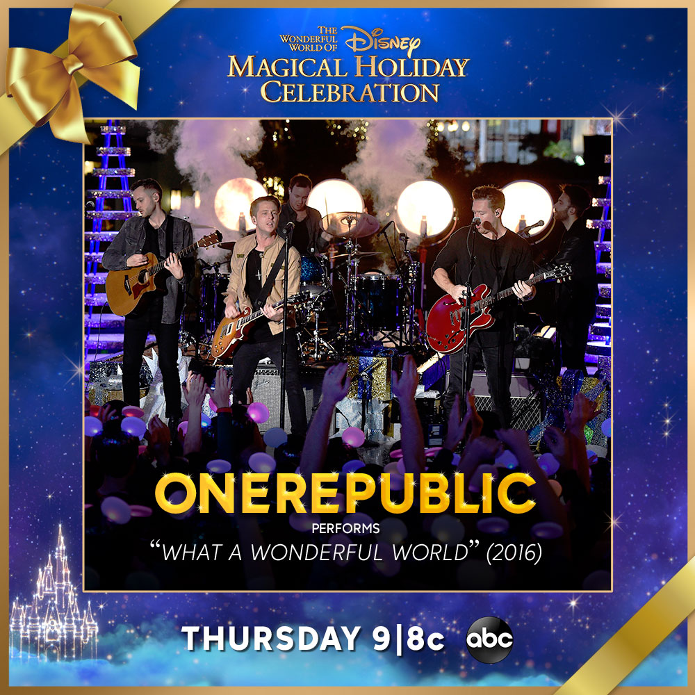 Join us on Thanksgiving Night at 9|8c on @ABCNetwork as we take a look back at our performance in the Wonderful World of Disney: Magical Holiday Celebration! #DisneyHolidayCelebration