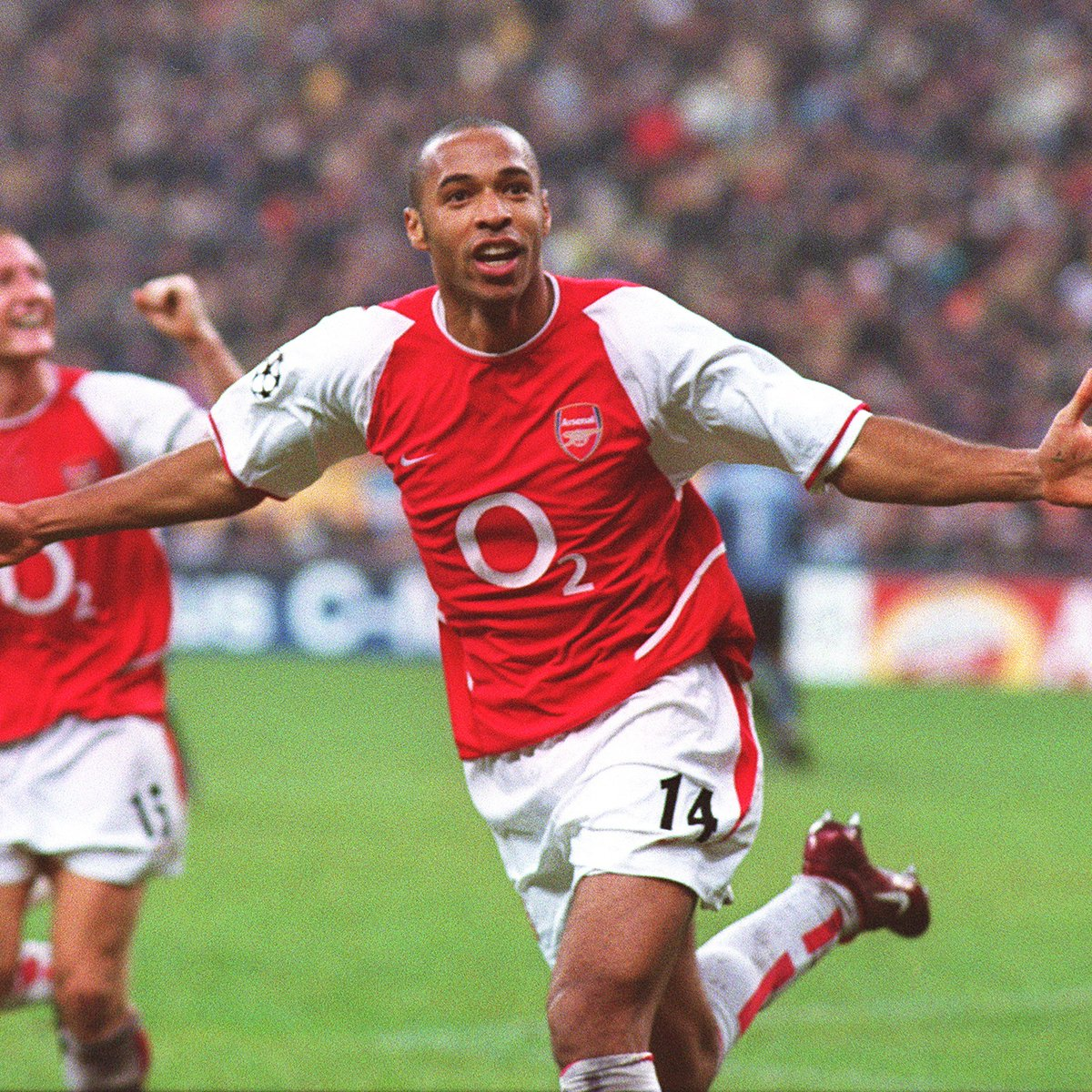 🗓 #OnThisDay in 2003  The King reigned supreme at the San Siro  👑 @ThierryHenry