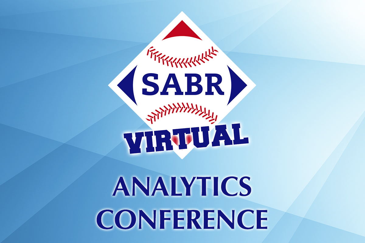 There's still time to submit an abstract to present your baseball research at the 2021 #SABRanalytics Virtual Conference! Just a few hours left to apply. Learn more: https://t.co/B9vXzAUkWo @SportsInfo_SIS https://t.co/x97PhAItru