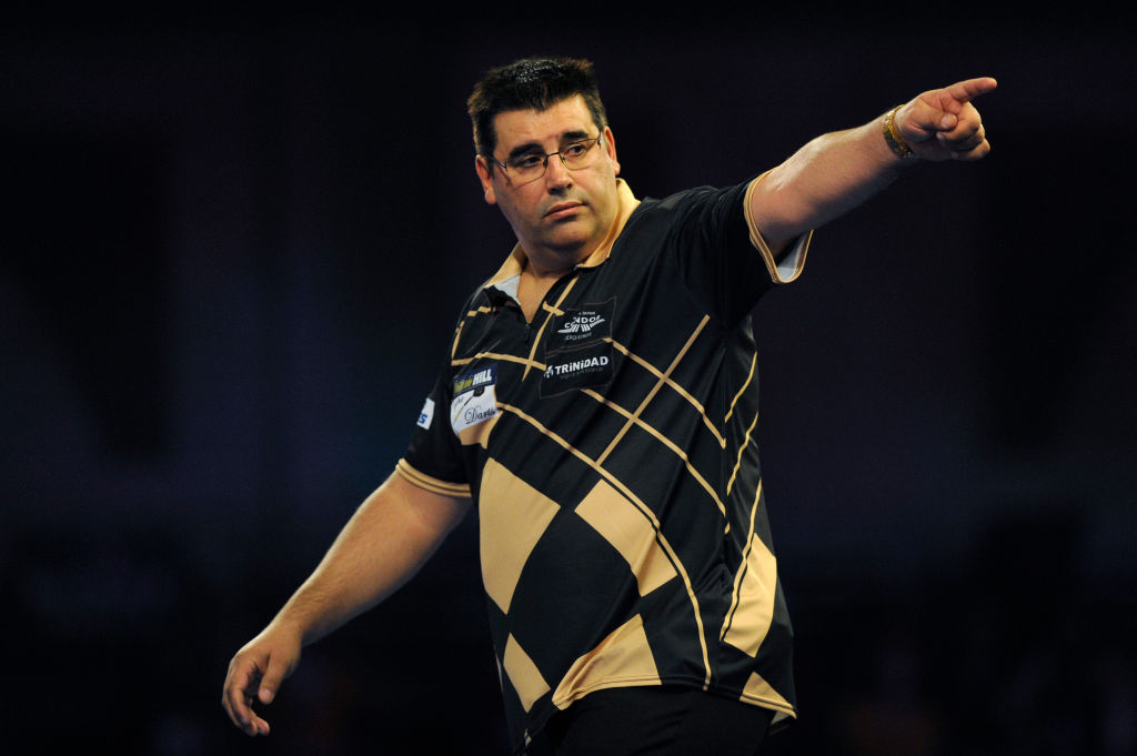 From kitchen fitter to Grand Slam of Darts winner.  Jose 'The Special One' de Sousa is £125,000 richer this morning!  Read: https://t.co/KUBYVwBppQ https://t.co/zu7EhLm7GA