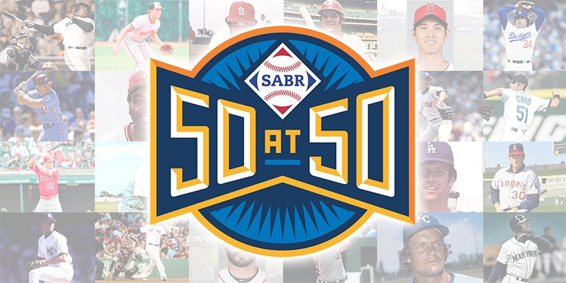 Our new #SABR50at50 series highlights the most impactful baseball players, records, and off-field figures of the past 50 years. Check it out at https://t.co/UEGDFlOW15 https://t.co/Hd1dTT1cyw