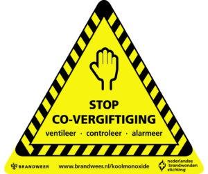 Campagne 'Stop CO-vergiftiging': dit stookseizoen groter risico op koolmonoxidevergiftiging -.