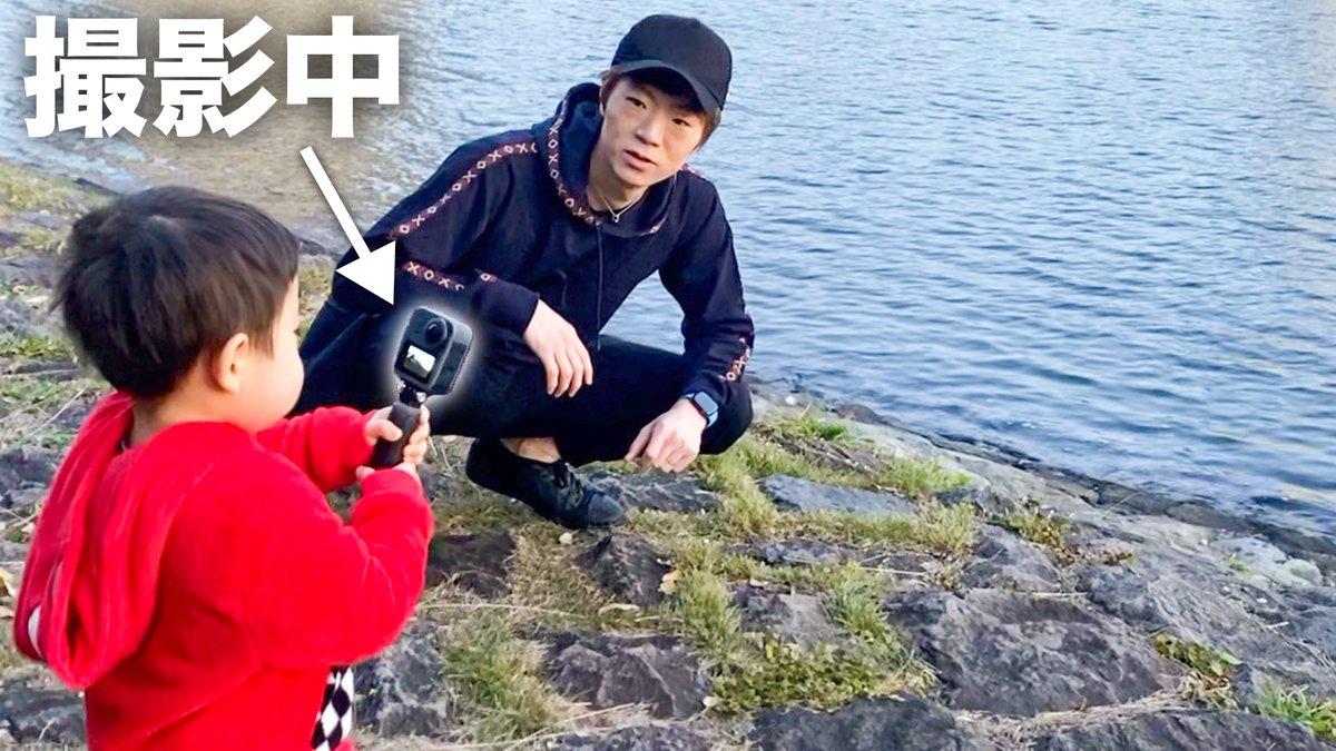 ★動画公開★チビキン(2歳)がカメラ持って撮影するとどんな動画になるの?  @YouTube