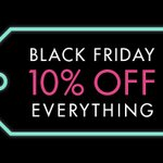 Image for the Tweet beginning: Black Friday at has launched
